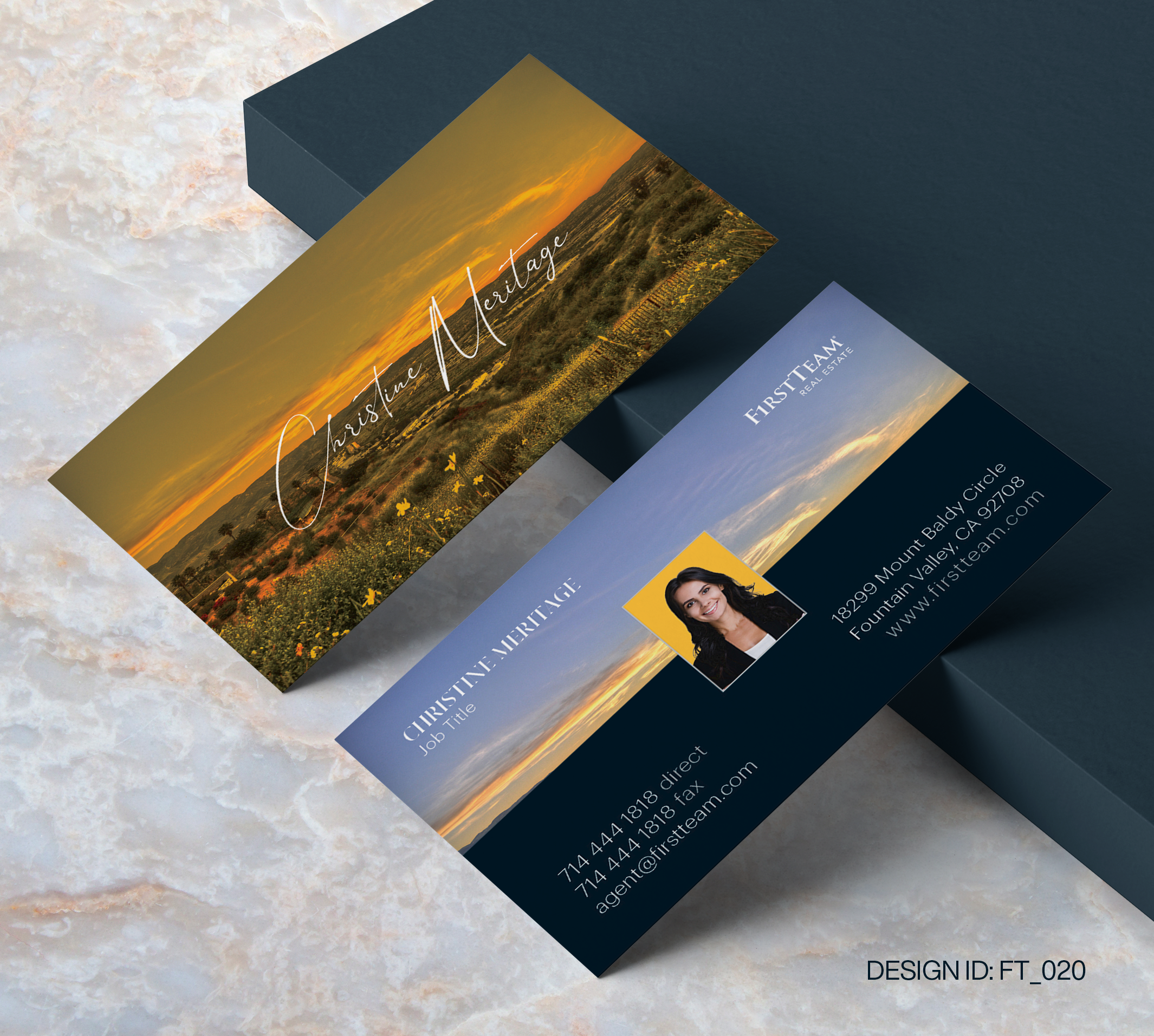 First Team Business Card Design  020