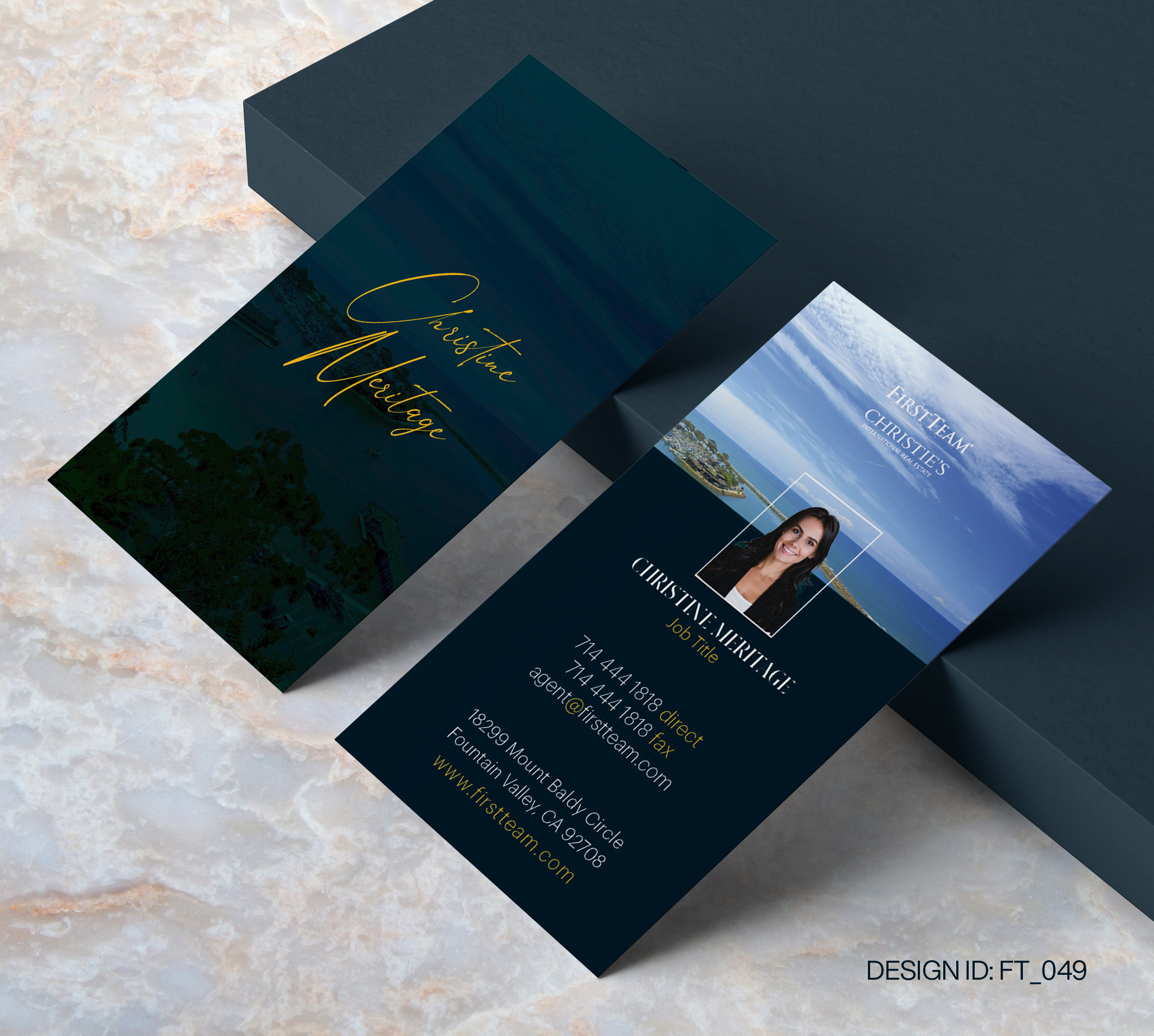 First Team Business Card Design  049