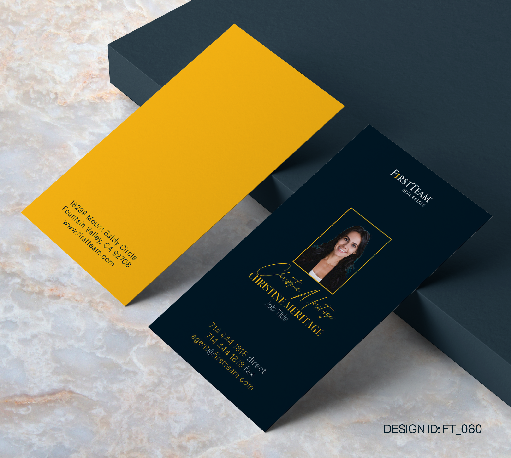 First Team Business Card Design  060