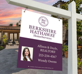 Berkshire Hathaway Hanging Sign Design 004