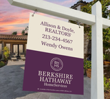 Berkshire Hathaway Hanging Sign Design 009