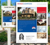 Remax Premium Listing Flyers Design 005