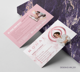 Monat Business Card Design 001