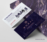 Monat Business Card Design 005