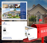 Coldwell Banker Inspired Premium Postcard Design 010