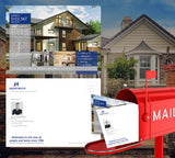 Coldwell Banker Inspired Premium Postcard Design 011