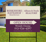 Berkshire Hathaway Sidewalk Sign Design 008