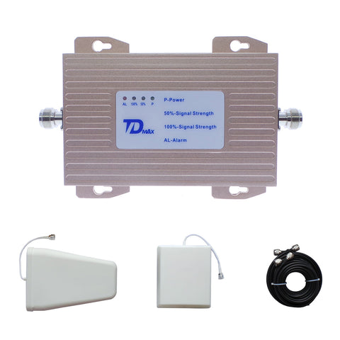 TDMAX Single Band Signal Booster | 4G FDD LTE 700MHz (Band 12, 17) Mobile Repeater
