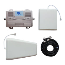 Load image into Gallery viewer, Dual Band 900MHz 2100MHz Signal Booster GSM/UMTS Mobile Phone Repeater GSM/WCDMA Signal Amplifier With Antennas - GULFALI