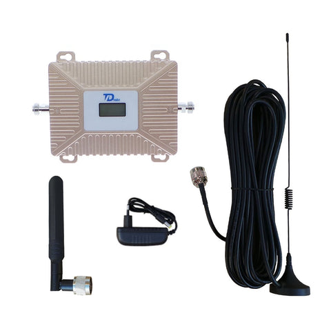 TDMAX Dual Band Signal Booster | 850MHz 1700MHz Cell Phone Signal Booster | Mobile Phone Repeater