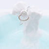 Delicate Love Infinity Heart Ring in Silver - RecocoNYC - 4