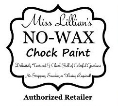 Miss Lillian's NO WAX Chock Paint