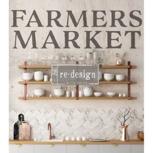 FARMERS MARKET 12″X 26″- REDESIGN DÉCOR TRANSFERS®