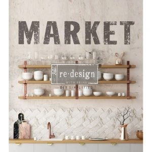 MARKET 9″X 11″- REDESIGN DÉCOR TRANSFERS®