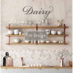 DAIRY 6″X 34″- REDESIGN DÉCOR TRANSFERS®