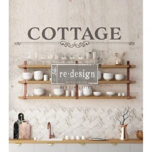 COTTAGE 7″X 34″- REDESIGN DÉCOR TRANSFERS®