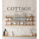 "COTTAGE 36""x17"" REDESIGN DÉCOR TRANSFERS®"