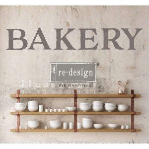 BAKERY 15″X 27″- REDESIGN DÉCOR TRANSFERS®