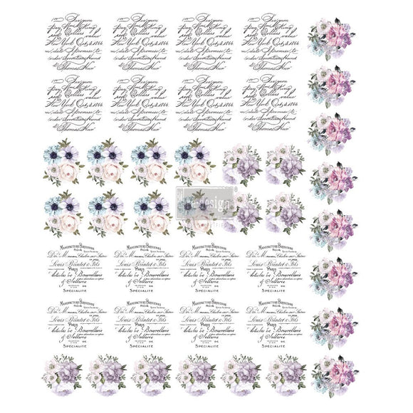 SPRING MEADOW 8.5″X10.5″ SHEET SIZE- REDESIGN KNOB TRANSFER