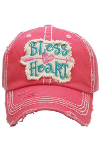 """Bless Your Heart"" Vintage Ball Cap"