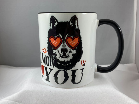 I Woof You Ceramic Coffee Mug