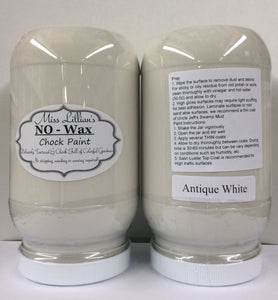 Antique White - Miss Lillian's NO WAX Chock Paint