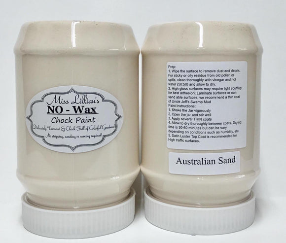 Australian Sand - Miss Lillian's NO WAX Chock Paint