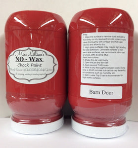 Barn Red - Miss Lillian's NO WAX Chock Paint