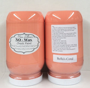 Bella's Coral - Miss Lillian's NO WAX Chock Paint