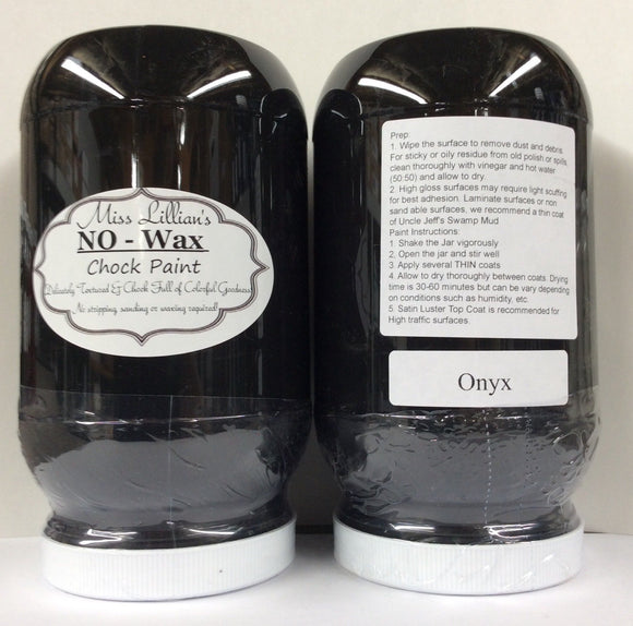 Onyx - Miss Lillian's NO WAX Chock Paint