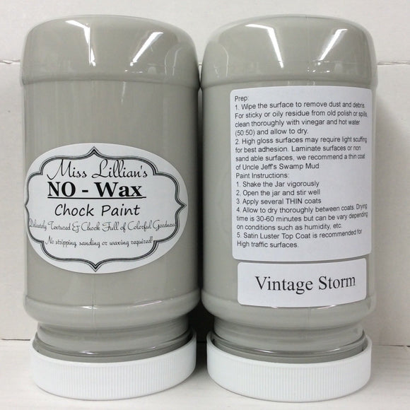 Vintage Storm - Miss Lillian's NO WAX Chock Paint