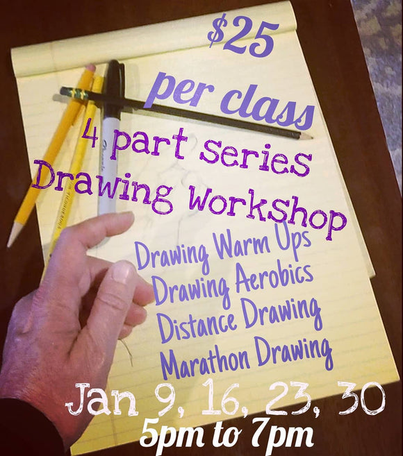 Drawing Workshop January 23rd