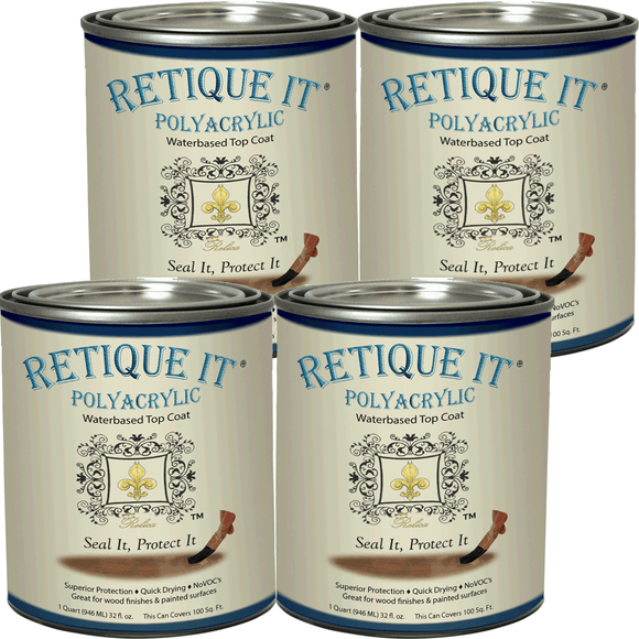 Retique It - Polyacrylic Clear Stain Top Coat