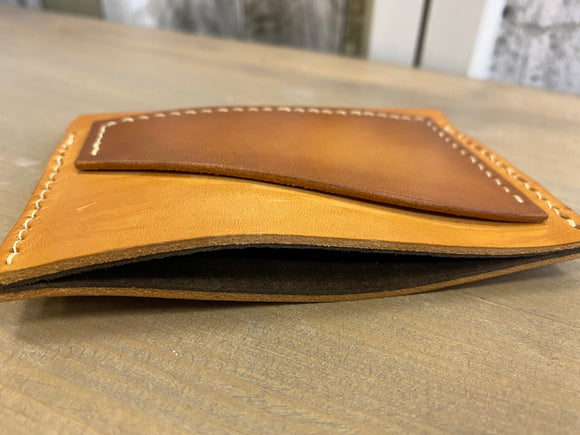 Two toned Handmade Leather Wallet