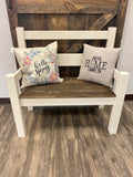 Farmhouse Style Bench