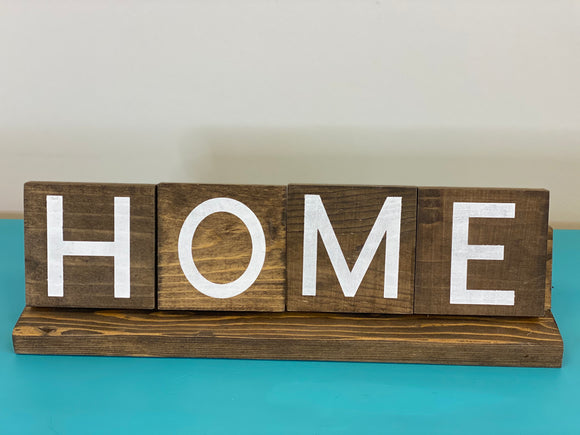 Love / Home Double Sided Scrabble Display