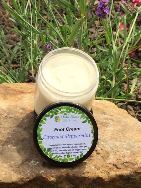 Foot Cream Peppermint Lavender