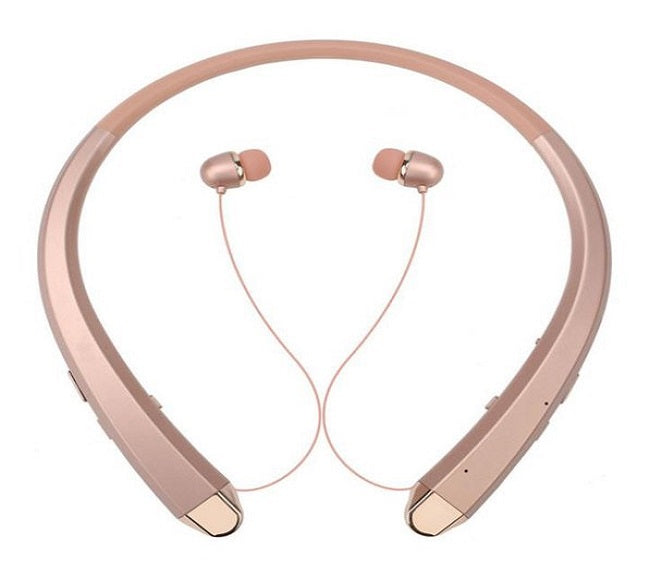 BLUETOOTH WIRELESS STEREO HEADPHONES EVOGUE 910 (GOLD)