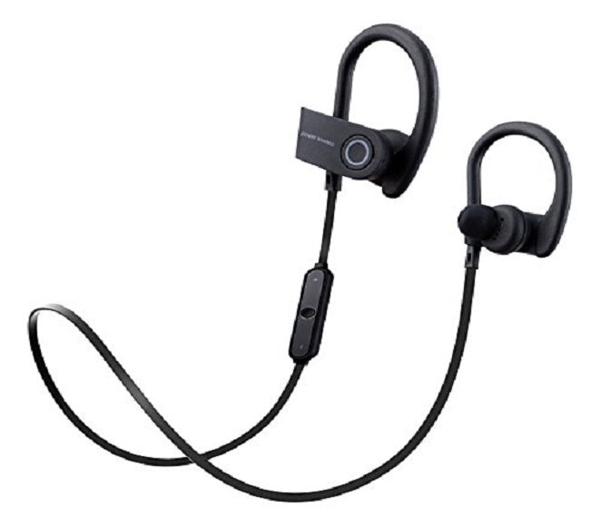 BLUETOOTH WIRELESS SPORTS HEADPHONES BLACK POWER3 WIRELESS (G5)