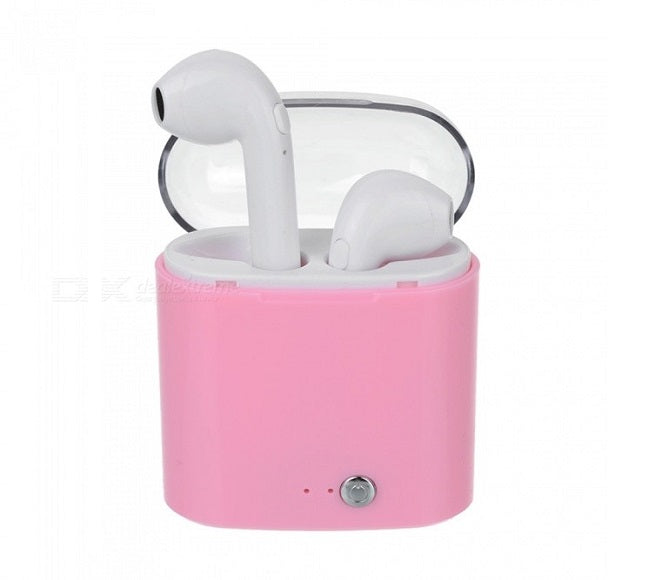BLUETOOTH APPLE I7S PINK