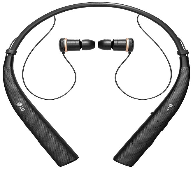 BLUETOOTH WIRELESS STEREO HEADSET ORIGINAL LG TONE PRO  HBS780  A-STOCK BLACK