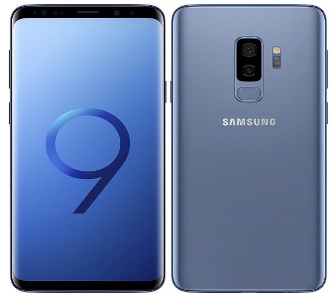 SAMSUNG GALAXY S9 G960 UNLOCKED BLUE - REFURBISHED