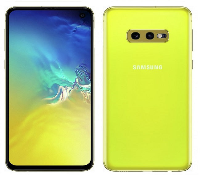 SAMSUNG GALAXY S10E G970F UNLOCKED CANARY YELLOW - NEW PHONE