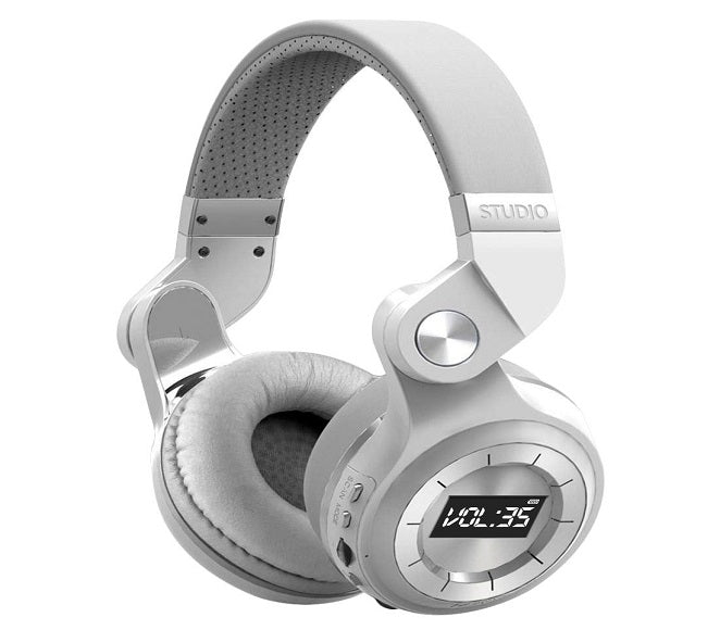 BLUETOOTH WIRELESS HEADPHONES WHITE ORIGINAL VIBES STUDIO