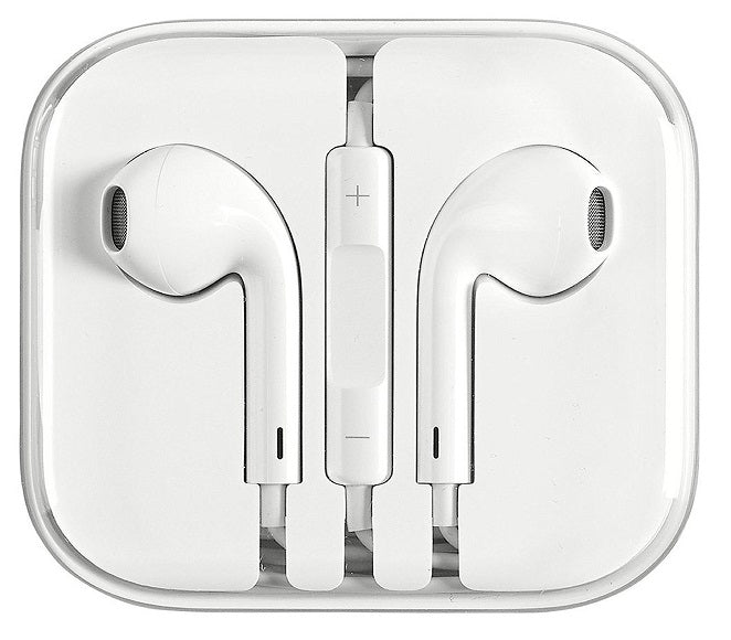 HEADSET EARPHONES HEADPHONES APPLE IPHONE 4/5/6 WHITE
