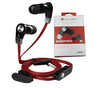 HEADSET SUPER BASS JM02 RED LANGSDOM