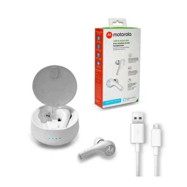 BLUETOOTH HEADSET VERVE BUDS 500 MOTOROLA WHITE