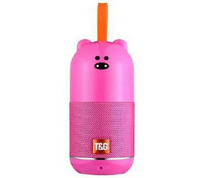 SPEAKER BLUETOOTH TG502 T&G (PINK BEAR)