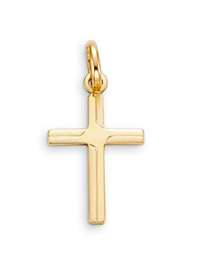 Cross Pendant 10K Yellow Gold