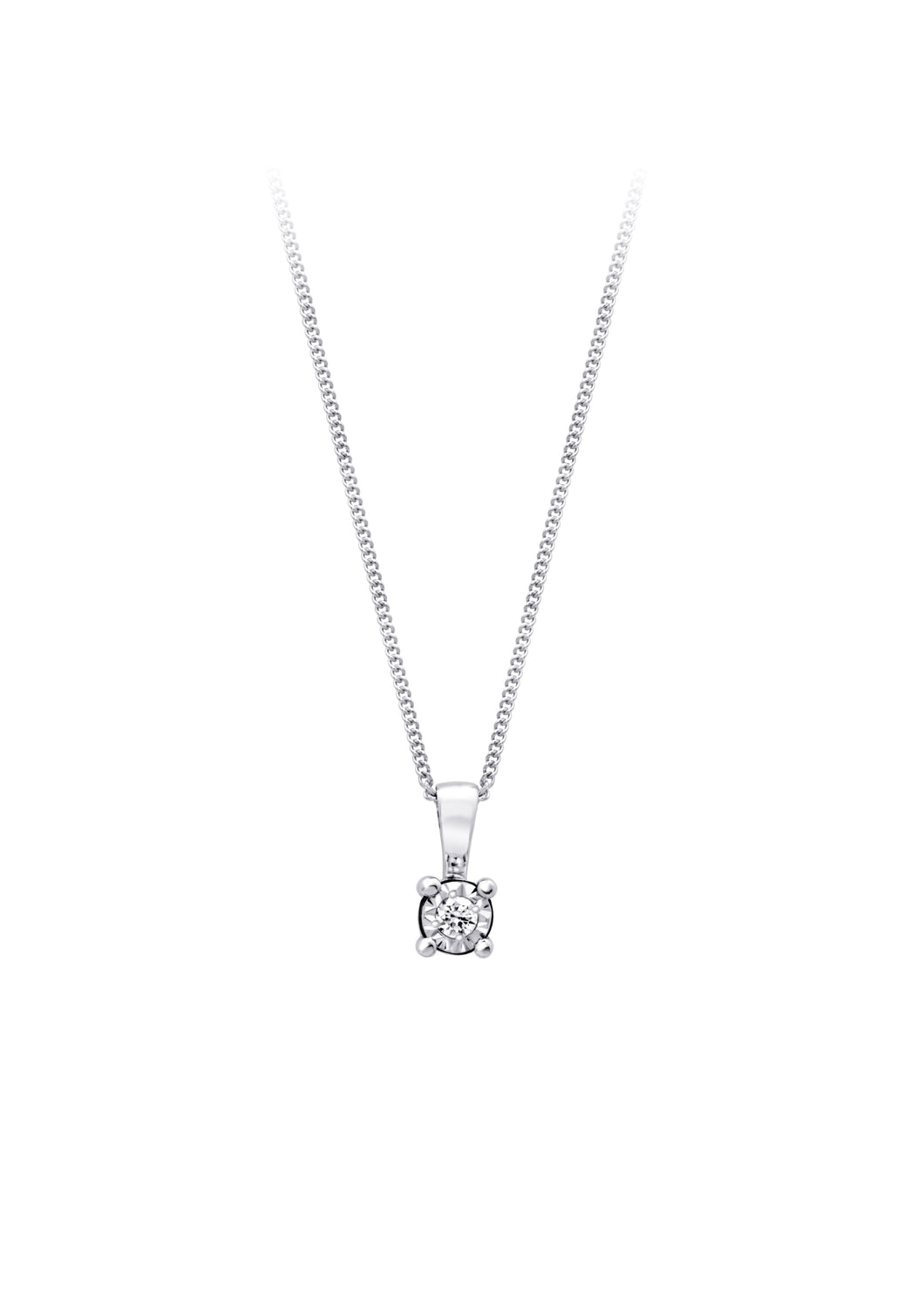 Vector Cut Diamond Pendant